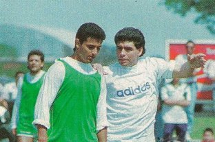 Hace 25 años, Maradona debutaba como entrenador en Mandiyú