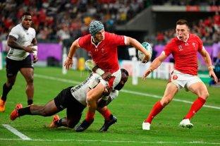 Gales ganó y se metió en cuartos de final