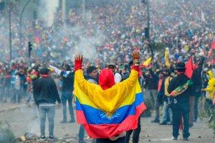 Movimiento indígena profundiza protestas contra el ajuste de Lenín Moreno