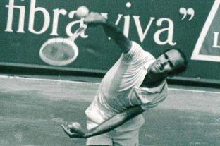 Falleció el reconocido tenista Andrés Gimeno