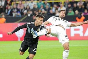 Argentina empata con Alemania en Dortmund