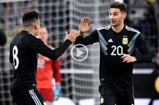 Argentina rescató un empate ante Alemania