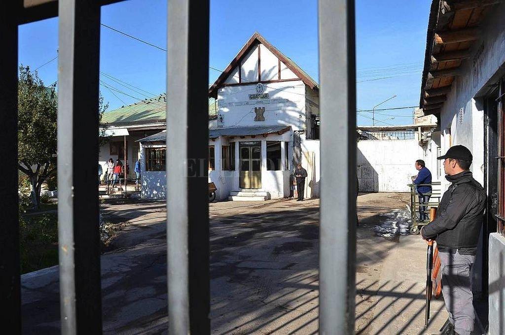 Cárcel de San Rafael, donde fue alojado el acusado de la violación. <strong>Foto:</strong> Captura digital - Diario Los Andes