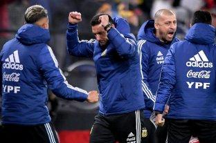 """Scaloni: """"Fue un buen partido con cosas positivas para el futuro"""""""