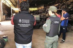 Venado Tuerto: secuestros millonarios tras allanamientos a desarmaderos