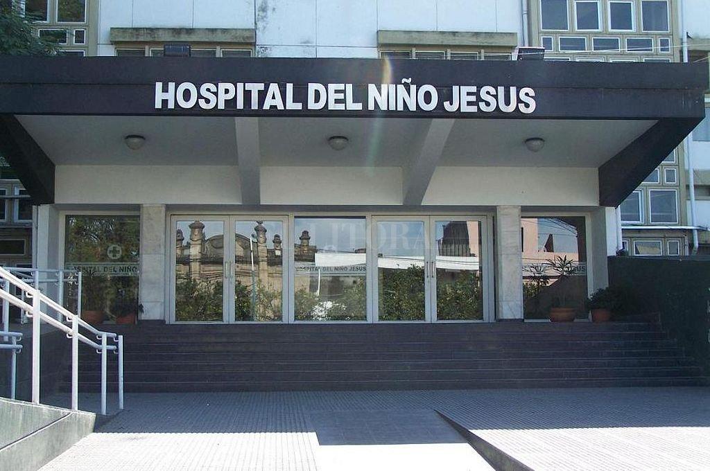 El menor baleado permanecía internado en el Hospital del Niño Jesús de San Miguel de Tucumán. <strong>Foto:</strong> Captura digital