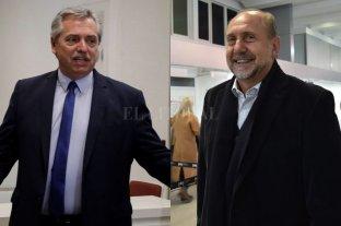 Alberto Fernández se quedará en Santa Fe tras el debate para reunirse con Perotti