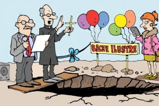 Humor: Un bache ilustre
