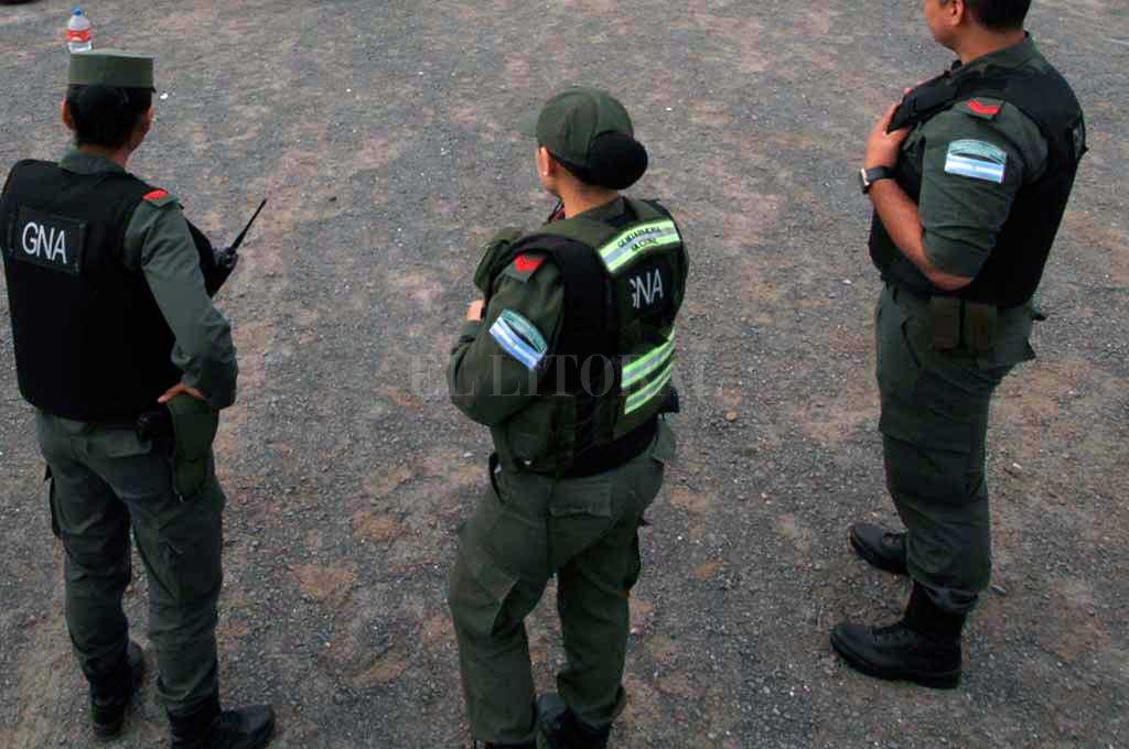 El operativo fue encabezado por Gendarmería Crédito: Archivo El Litoral