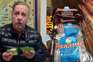 """""""¿Qué te pasa Donald?"""": el dueño de Guaymallén indignado por los precios de sus alfajores en EEUU"""
