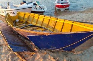 Prefectura secuestró 160 kilos de marihuana en una canoa