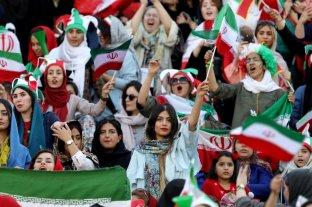 Histórico: las mujeres iraníes podrán ingresar a los estadios de fútbol
