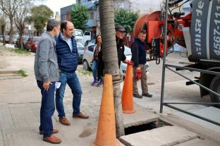 El Municipio licitó el mantenimiento y limpieza de desagües entubados