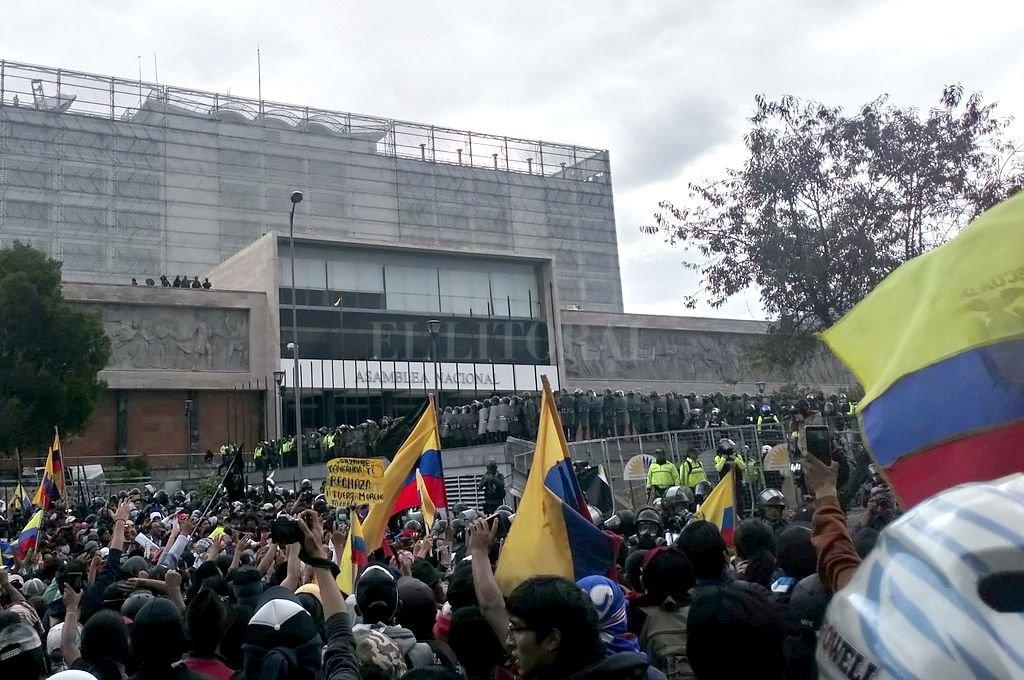 Crédito: @CONAIE_Ecuador