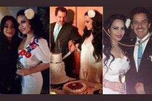 "Se casó Isabelita Sarli, la hija de ""Coca"""