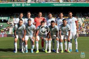 Argentina golea a Ecuador
