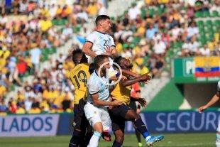 Argentina goleó 6 a 1 a Ecuador