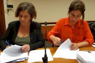 """""""Caranchos"""": trece imputados  por integrar asociación ilícita - La atribución delictiva fue realizada por las fiscales Mariela Jiménez y María Laura Urquiza."""