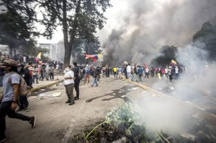 Elevan a 7 muertos, 1.340 heridos y 1.152 detenidos el saldo de las protestas en Ecuador -  -