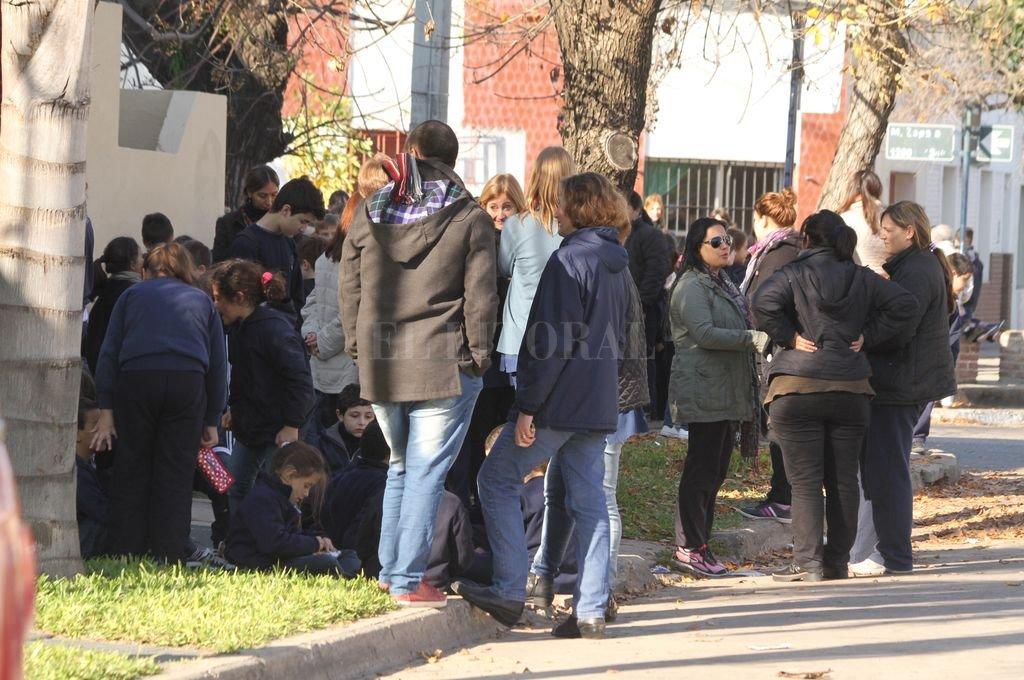 Amenaza de bomba en una escuela de la ciudad. Crédito: Archivo El Litoral