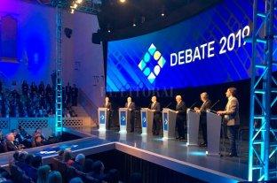 En vivo: seguí el primer debate presidencial de cara a las elecciones generales