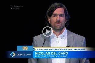 """Del Caño durísimo contra Macri: """"Es un lamebotas de Trump"""""""