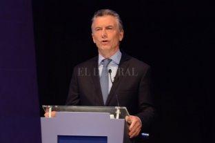 """Macri: """"Es inaceptable que en el siglo XXI haya desigualdades entre hombres y mujeres"""""""