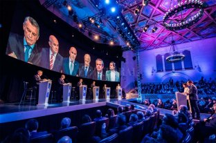 Sin demasiados cruces, se realizó el primer debate presidencial 2019 -  -