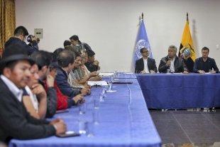 Acuerdo para derogar las medidas de ajuste y levantar las protestas en Ecuador -  -