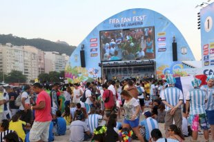 Como en el Mundial: Fan Zone