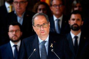 """El presidente catalán Quim Torra pide """"amnistía"""" para los condenados"""