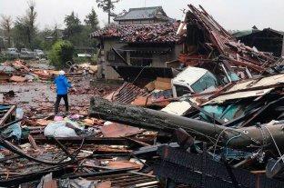 Al menos 40 muertos tras el paso del tifón Hagibis