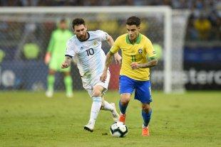 Argentina y Brasil se enfrentarán en noviembre -  -