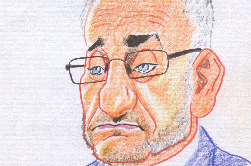 Alcides Calvo, senador por Castellanos.  <strong>Foto:</strong> Ilustración: Lucas Cejas