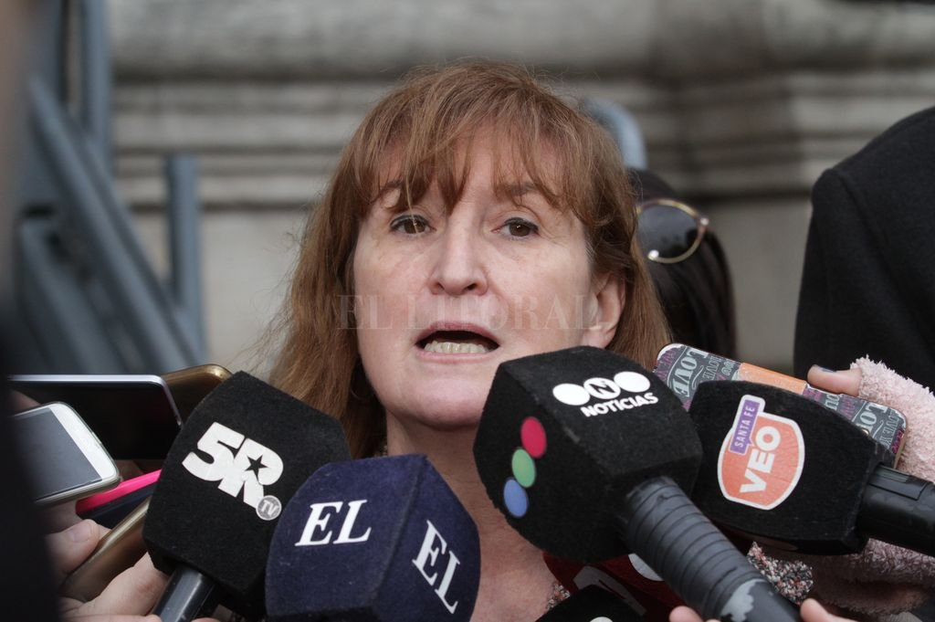 Andrea Uboldi, ministra de Salud.  Crédito: Archivo El Litoral