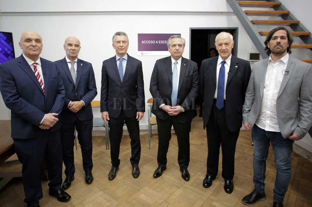 Los protagonistas antes de dar a conocer sus ideas y opiniones.  <strong>Foto:</strong> Noticias Argentinas