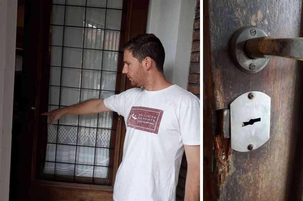"""""""Esto te cambia la vida. Ahora tendremos que aumentar las medidas de seguridad"""", opinó Francisco, la víctima. <strong>Foto:</strong> Danilo Chiapello"""