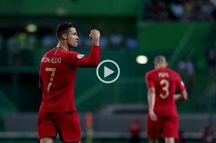 Cristiano Ronaldo marcó el gol 700 en su carrera