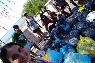 Convocan a voluntarios para limpiar la Laguna Setúbal -  -
