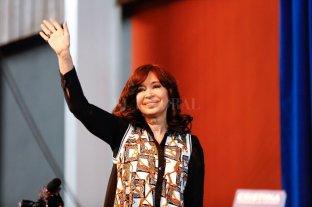 """Cristina Kirchner pidió que la deuda externa la paguen """"en mayor parte quienes más la disfrutaron"""""""