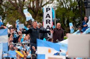 Tras su paso por Paraná, Macri llega a Pergamino -  -