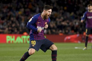 Messi recibirá su sexto botín de oro