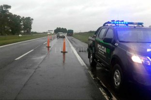 Choque sin heridos en la Autopista Santa Fe - Rosario