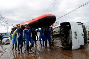 El número de víctimas por el tifón Habigis en Japón se eleva a 68