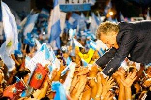 """Macri lleva la marcha del """"Si, se puede"""" a Córdoba"""