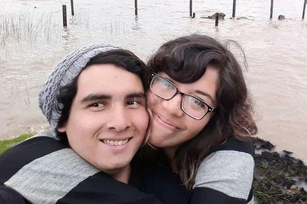 Emanuel Rivarola y Victoria Agüero. Crédito: Captura digital