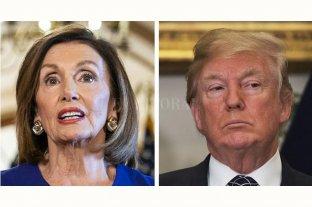 """Para Donald Trump, Nancy Pelosi es """"una política de tercera línea"""""""