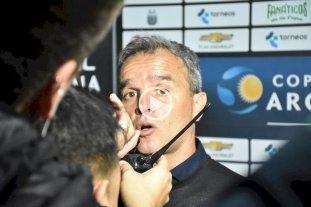 """Lavallén: """"El fútbol es así, cuando no podés cerrar el partido te puede pasar esto"""" -  -"""
