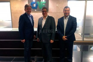 Jatón se reunió con autoridades del Banco de Desarrollo de América Latina