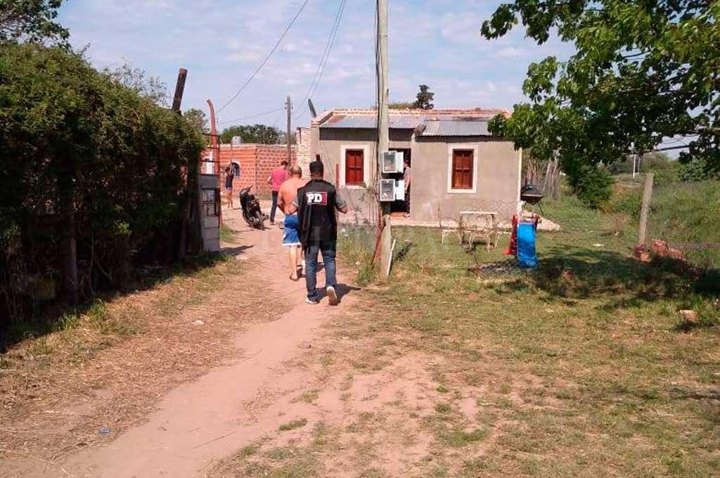 Zanabria fue detenido la semana pasada, en la esquina de su casa del barrio El Chaparral, de Santo Tomé, y sindicado como autor del homicidio <strong>Foto:</strong> Gentileza Ministerio de Seguridad de Santa Fe